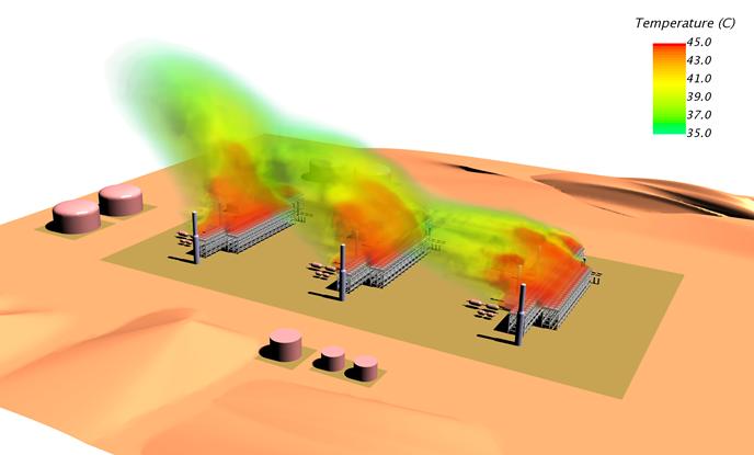Heat and Fluid Dynamics Simulation Technology|CHIYODA CORPORATION